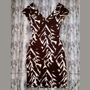 """Diane von Furstenberg """"Vintage"""" Line Bodycon Dress"""